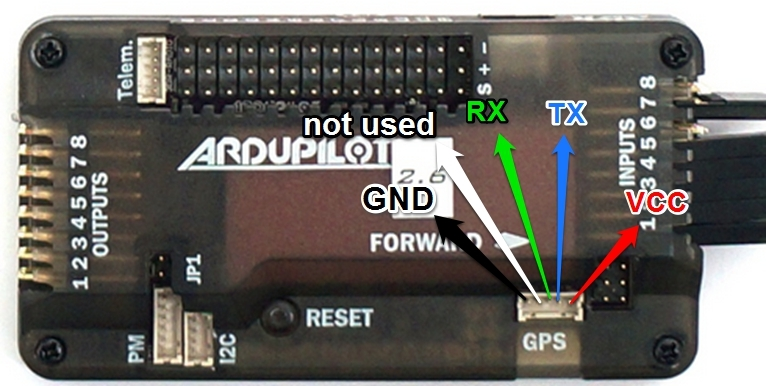 1893618ed3565e23 connecting ublox neo gps to apm guides dronetrest apm 2 8 flight controller wiring diagram at alyssarenee.co