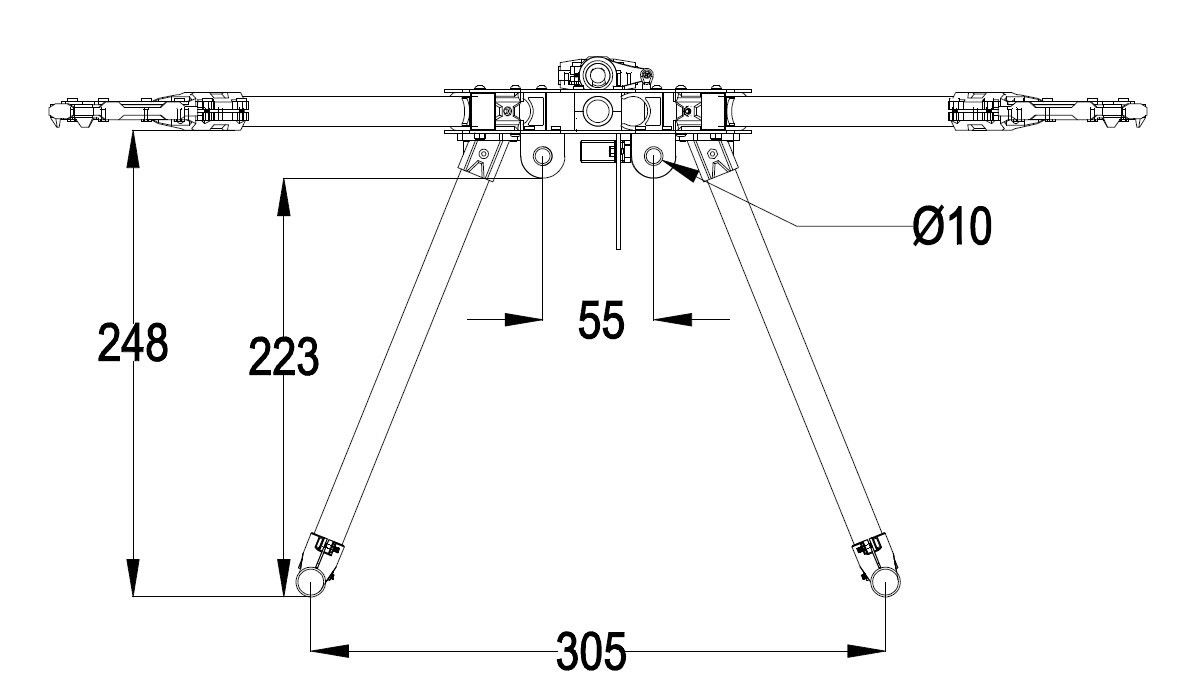 Y600 Tricopter Frame Assembly - Guides - DroneTrest