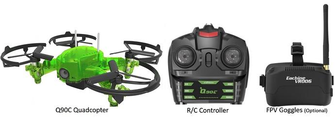 Eachine-Q90C-Flying-Frog-parts