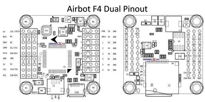 airbot-f4-dual-pinout
