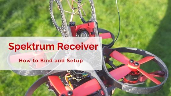 How to Bind Spektrum Satellite Receivers on BetaFlight for