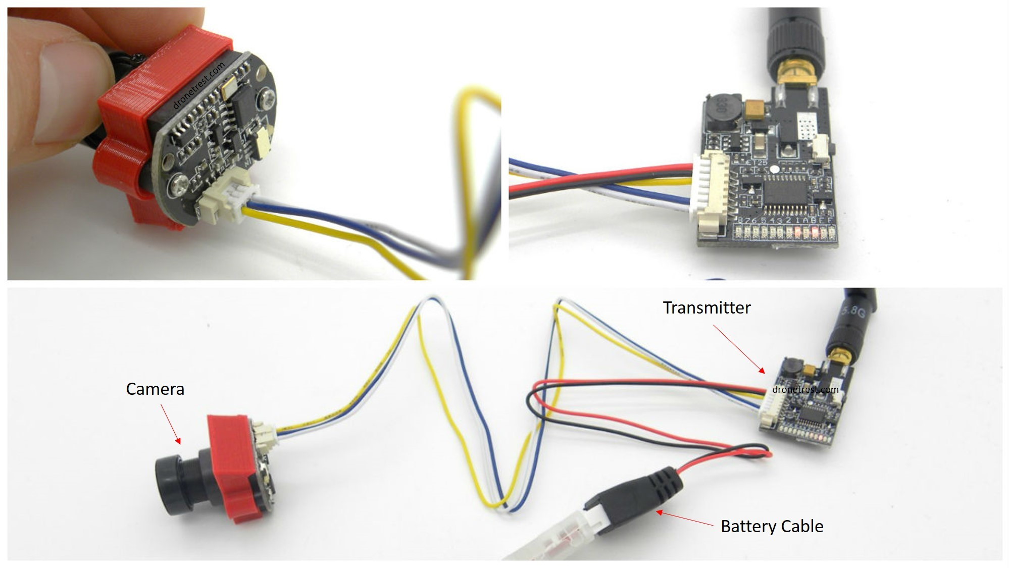 A beginners guide to adding FPV gear to the ZMR250 Quadcopter ...