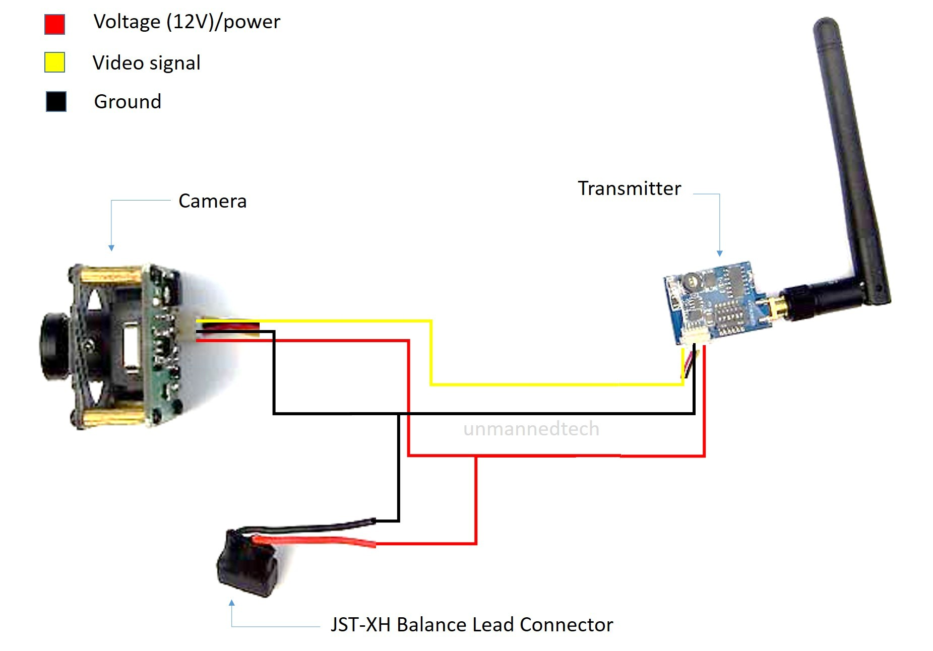 Beginners Guide On How To Build A Mini Fpv 250 Quadcopter Using The Quad 2 Circuit Diagram Camera Video Transmitter Wiring1851x1292 145 Kb