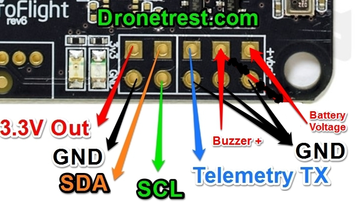 1bf4b386894eabb585290a2865ac89dd9239d86f naze 32 revision 6 flight controller guide guides dronetrest acro naze32 rev6 wiring diagram at crackthecode.co