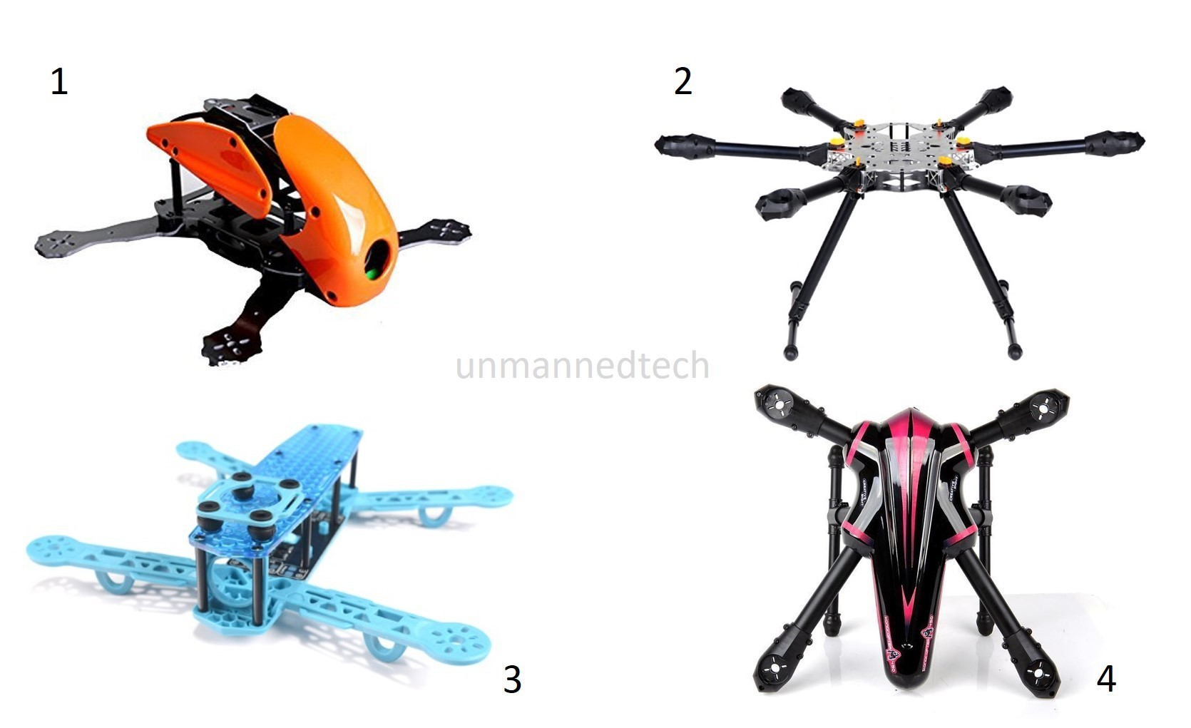 Anatomy of a multirotor drone - Guides - DroneTrest