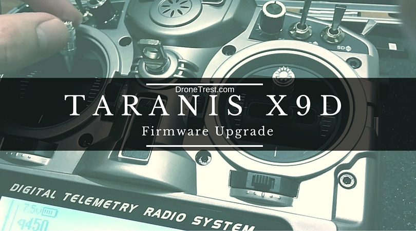 How to upgrade Firmware for FrSky Taranis X9D - Guides