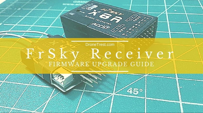 How to upgrade your FRsky Receiver firmware (X8R, X4R, X4R