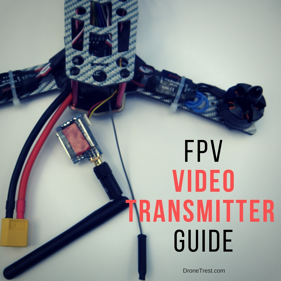 Fpv Video Transmitter Buying Guide Guides Dronetrest 2km Long Range Fm Radio