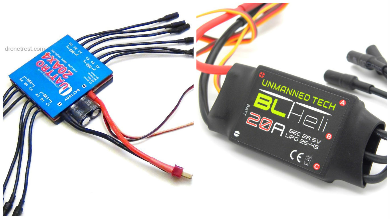 What To Consider When Buying A Esc For Your Multirotor Guides Wiring Diagram Two Brushless Motors And One Recommended 4in1 Vs 4in41366x768 138 Kb