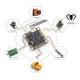 Mamba F405 Flight Controller wiring to FrSky R-XSR - Help - DroneTrest