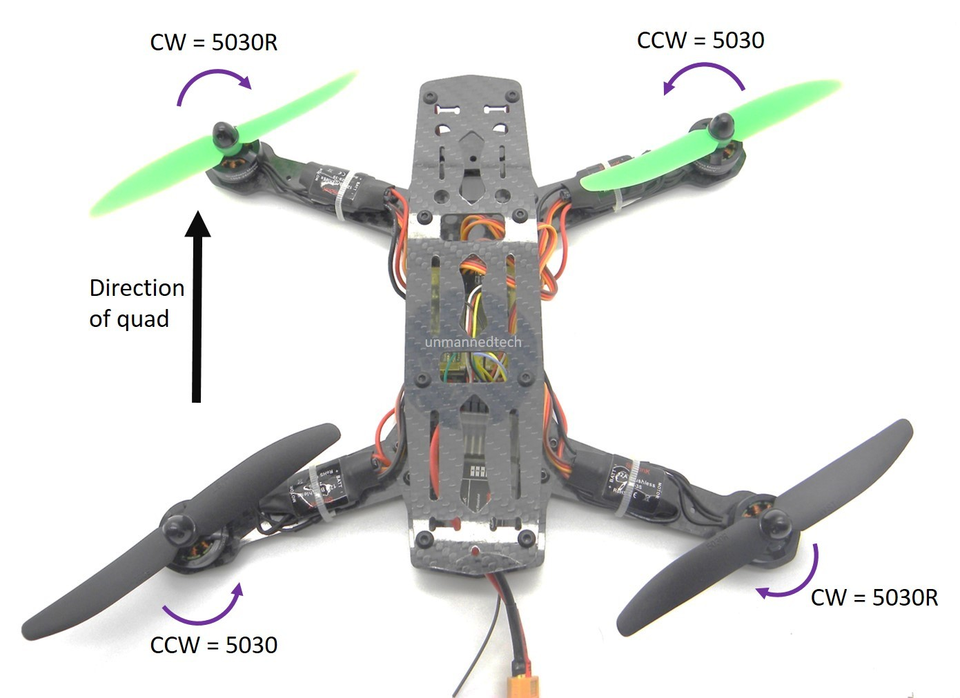 QAV ZMR 250 embly Build Guide - Guides - DroneTrest Racing Drone Wiring Diagram on
