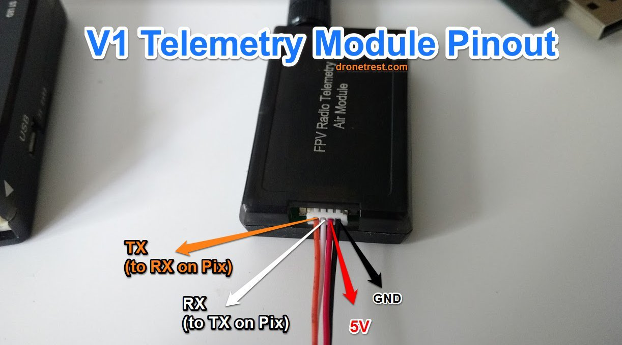 [DIAGRAM_38EU]  How to connect the unmanned telemetry kit v2 to pixhack autopilot - Guides  - DroneTrest | 3dr Radio Wiring |  | DroneTrest