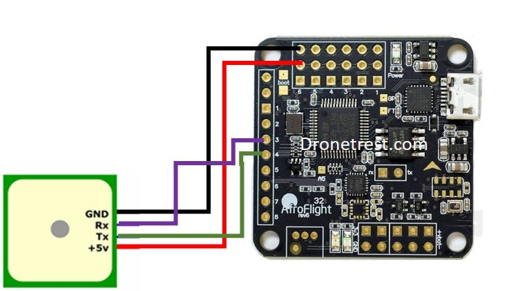 bdb65268f75f878dc45d1293804565efabd2dc3c naze 32 revision 6 flight controller guide guides dronetrest naze32 rev6 wiring diagram at panicattacktreatment.co
