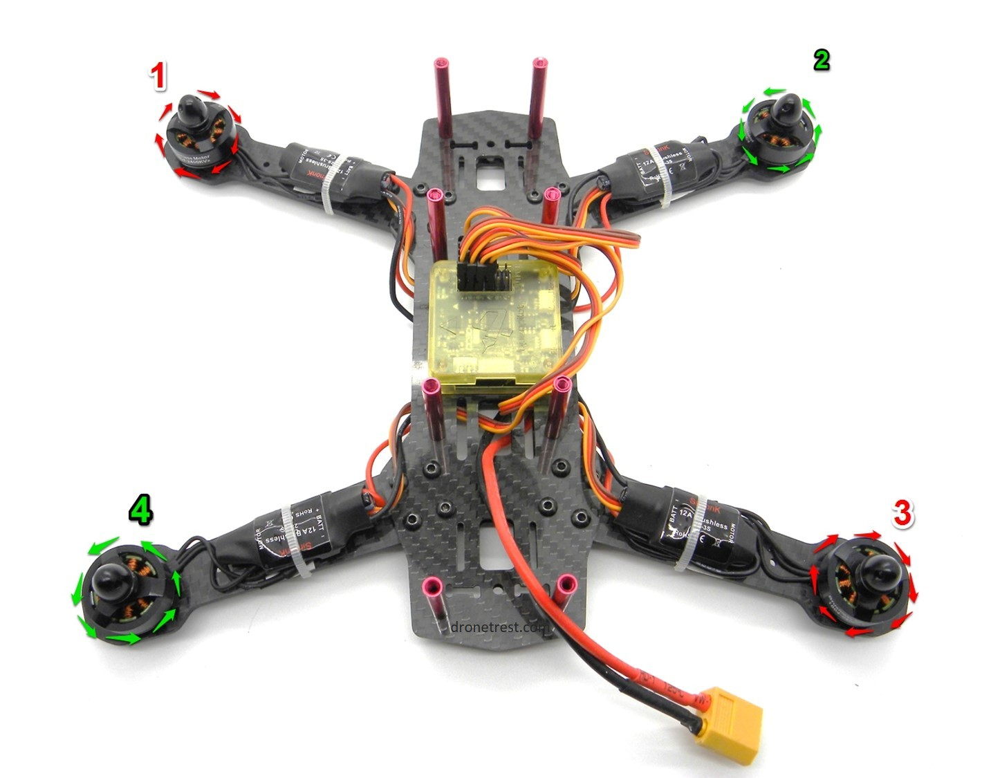 Qav zmr 250 assembly build guide guides dronetrest check point asfbconference2016 Images