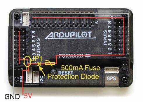 apm 2 8 installation questions! help dronetrest quad circuit breaker also if you dont have a jumper you can take the apm out of the case and just solder a short between the jp1 pins