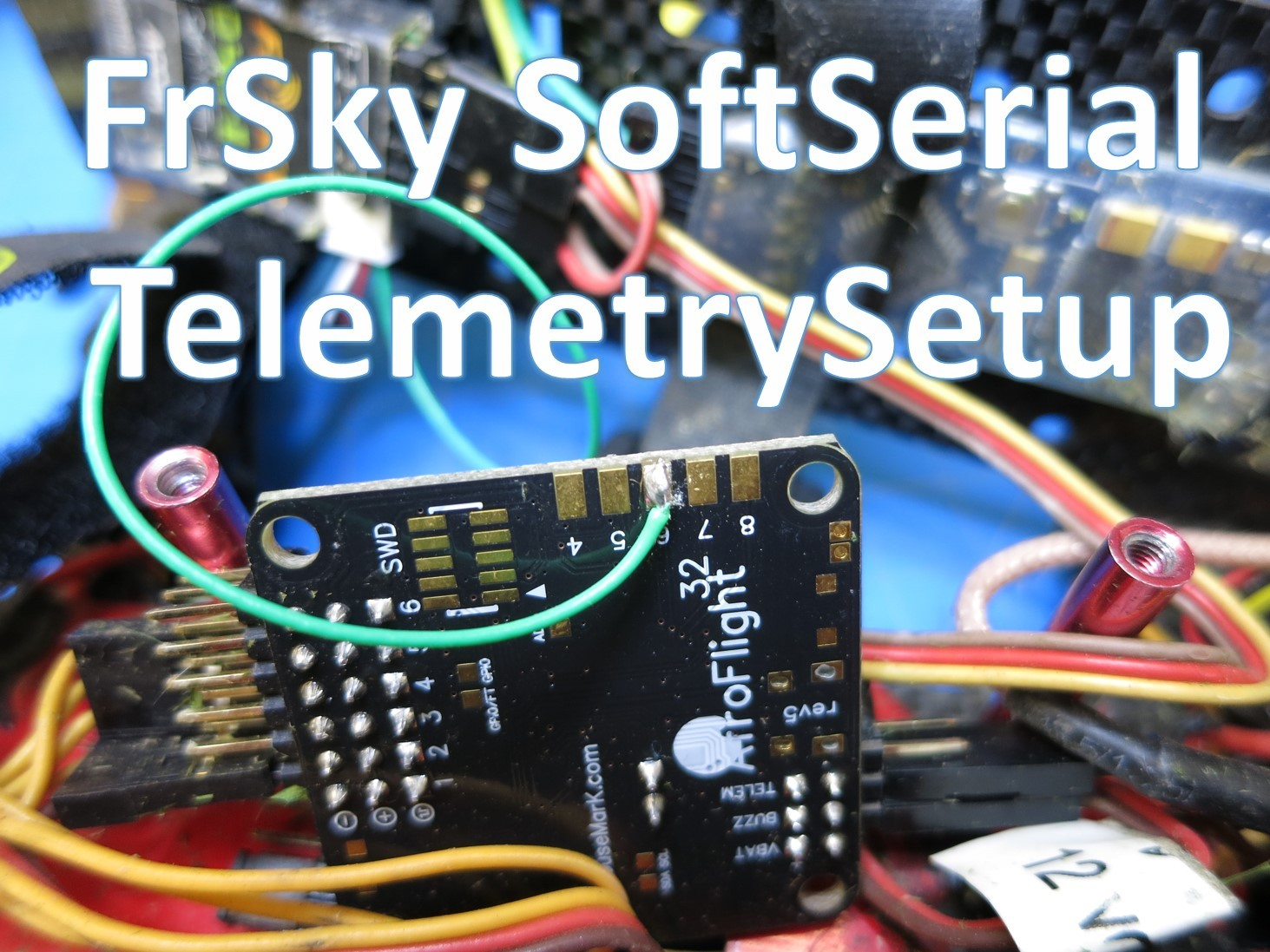 How to use FrSky Telemetry on your miniquad with cleanflight