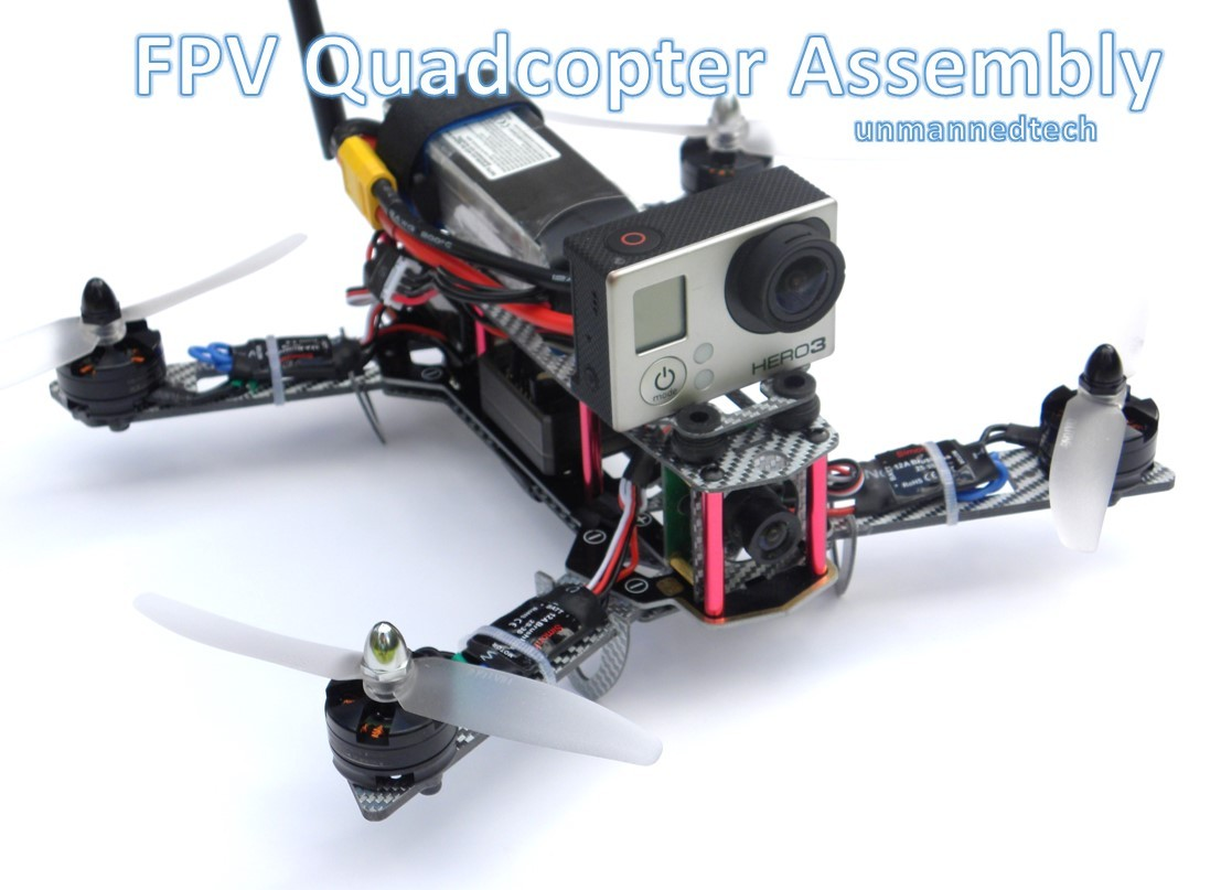 Beginners guide on how to build a mini FPV 250 quadcopter using the ...