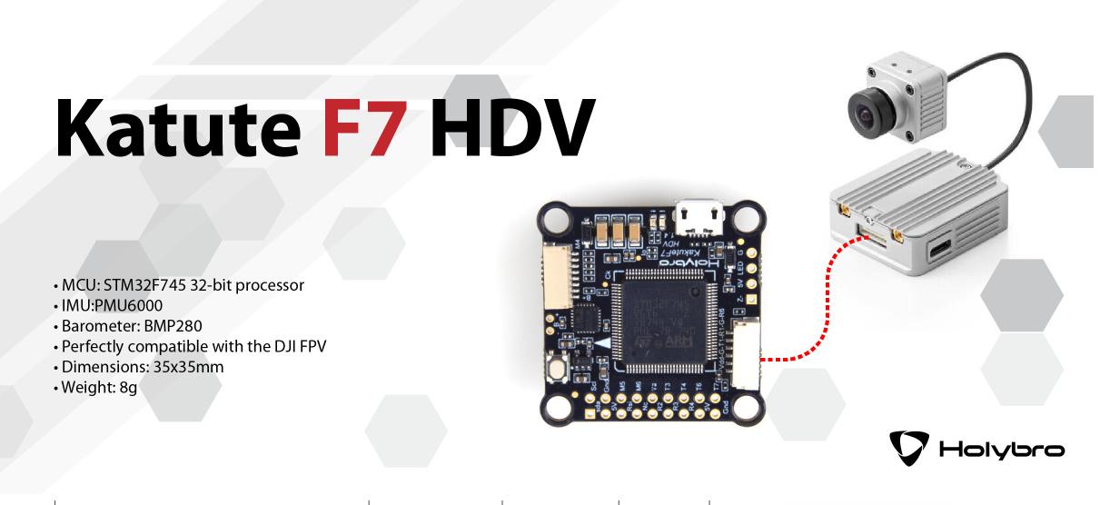 Holybro Kakute HDV - First FC with DJI Air Unit (HD FPV